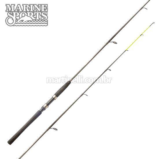 Vara Marine Sports Laguna 2 Nova S602MH - 15-30 lb - (1,83m) (molinete) (2 partes)