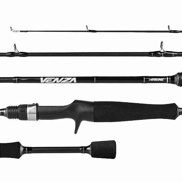 Vara Marine Sports Venza Vnz-C601M 10-20 LB 1,83m p/ carretilha