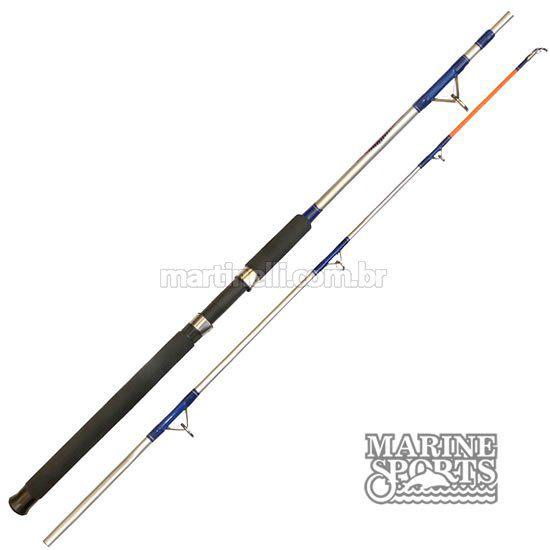 Vara MS Combat CB-602UH - 20-45 lb - (1,83m) (molinete) (2 partes)