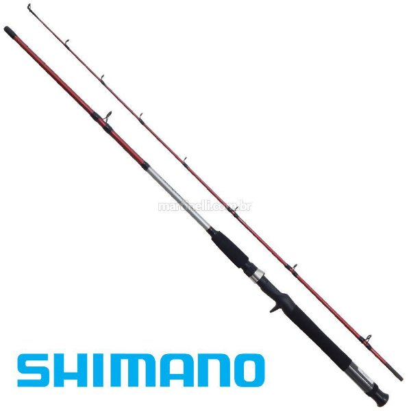 Vara Shimano Cruzar 2602 RED - 6' 8 - 16 lbs 1.8m (2 Partes - Carretilha)