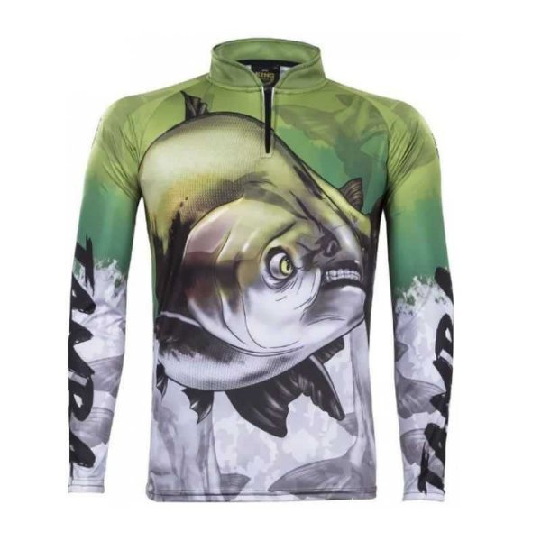 Camiseta de Pesca Sublimada Tamba