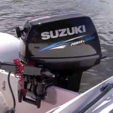 Motor de popa Suzuki 15HP PRO 2T - Pronta Entrega
