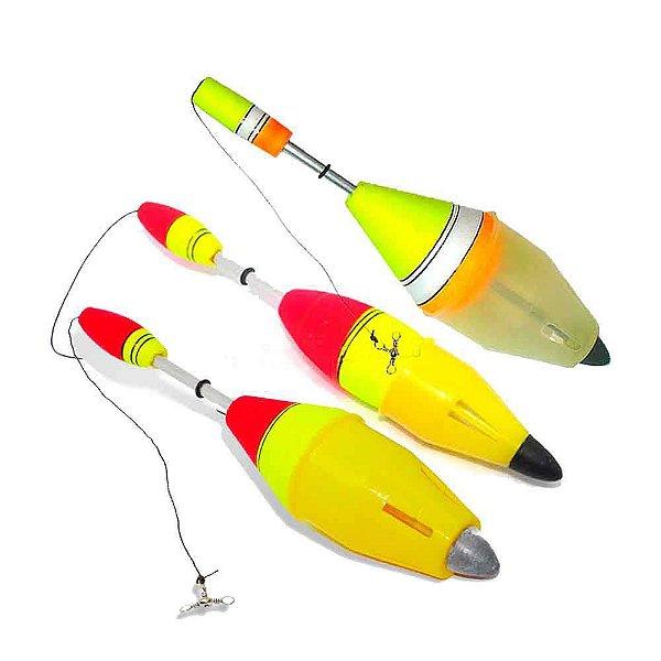 Kit Boia de Pesca Aguape Cevadeira 3 unidades