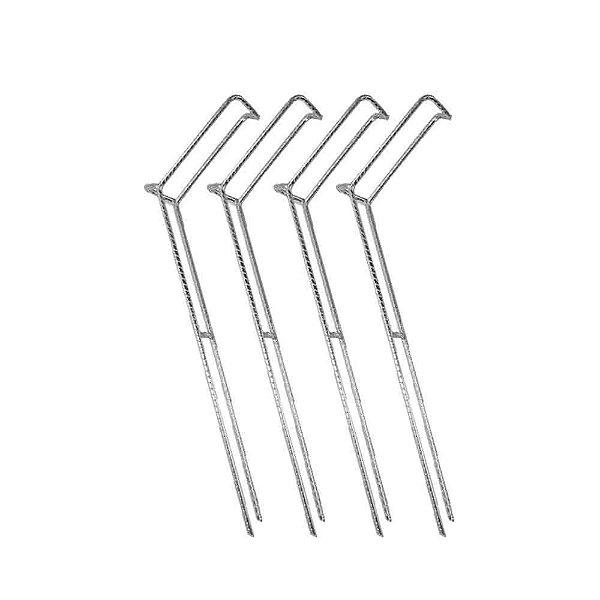 Kit 5X Suporte para vara barranco fixo tamanho G