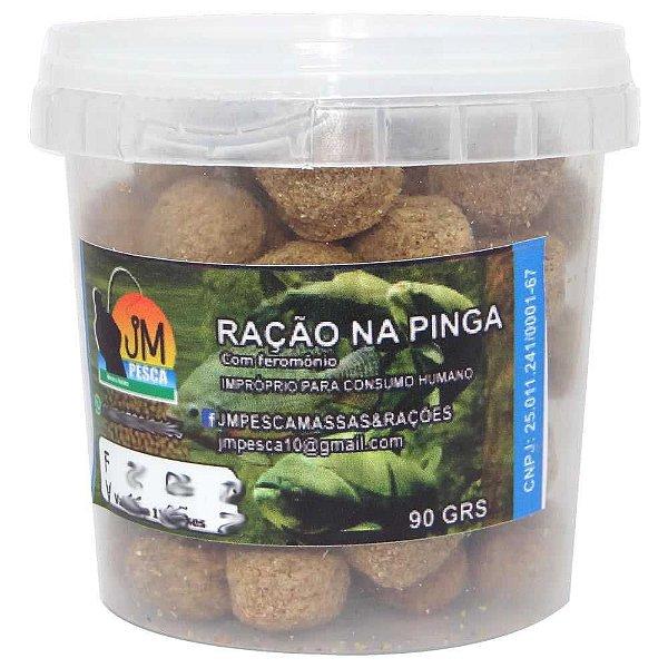 Massa JM Ração Aguamil Furadinha Na Pinga 90g Pronta p/ uso