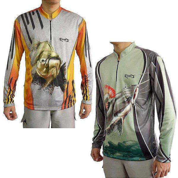Kit Camiseta MTK Atack Tambaqui GG + MTK Atack Z Pirarara GG