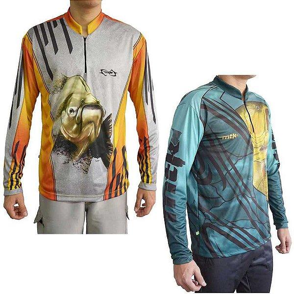 Camiseta MTK Atack Z GG Dourado + MTK Atack Z Tambaqui GG