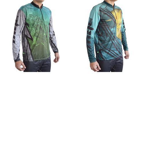 Kit Camiseta MTK Atack Z Tucuna GG + MTK Atack Z Dourado GG