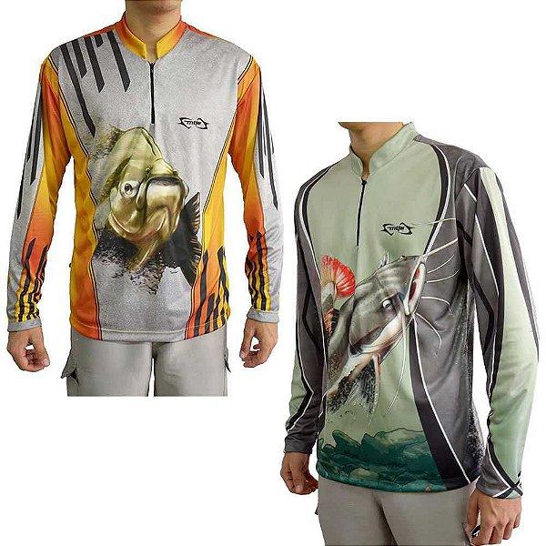 Kit Camiseta MTK Atack Z Tambaqui G + MTK Atack Z Pirarara G
