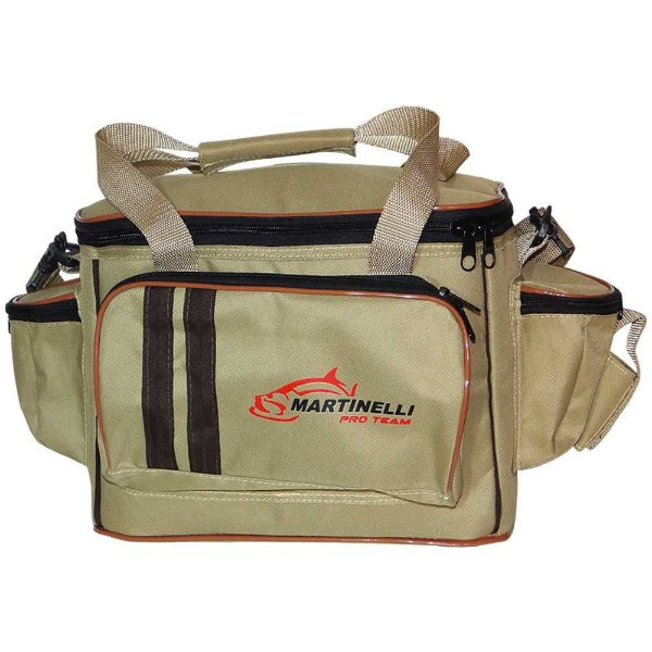 Bolsa de Pesca Martinelli Pro-Team P - Cor: bege
