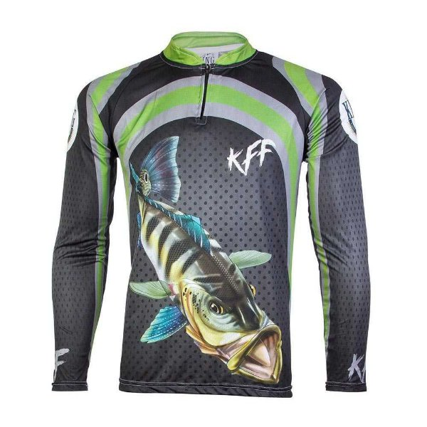 Camiseta de Pesca King Viking 14 - tam: G