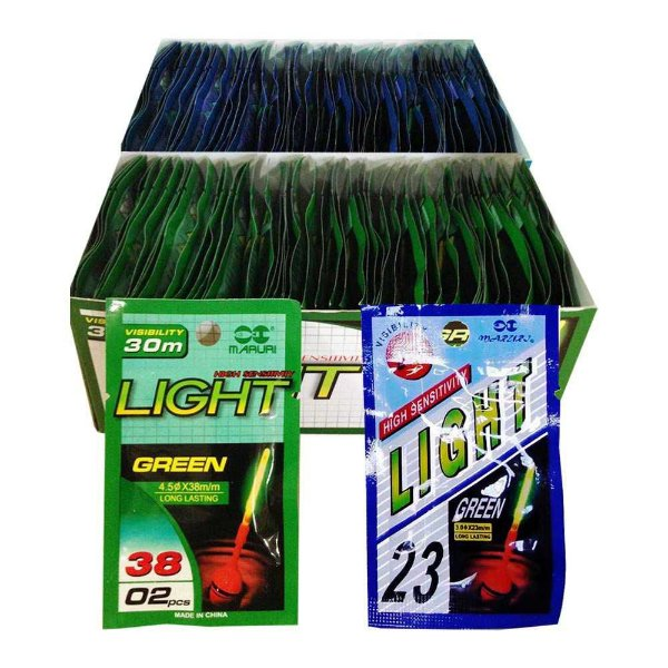 50 Un. Luz Química Maruri 4.5 x 38mm + 50 Un. 3.0 x 23mm