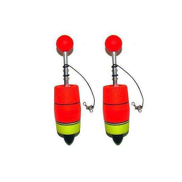 Kit de Pesca 2 Boias de pesca Aguape Torpedo N5 70g