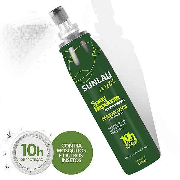 Repelente Sunlau Max Spray 100 ml