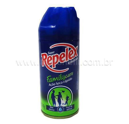 Repelente Repelex Aerossol Family Care 200 ml