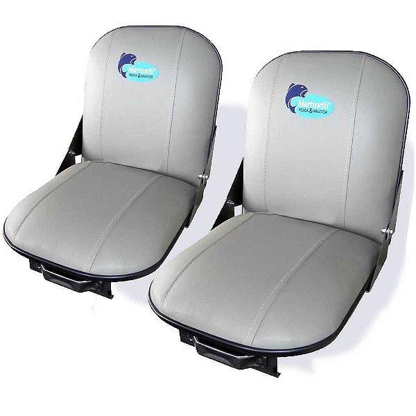 2 Poltronas (cadeira) estofada giratória e special