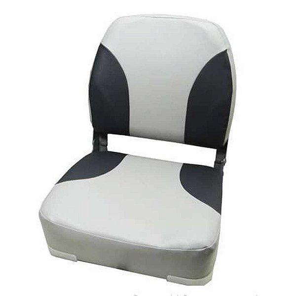 Cadeira Poltrona Barcos Cinza Esverdiado PV1747