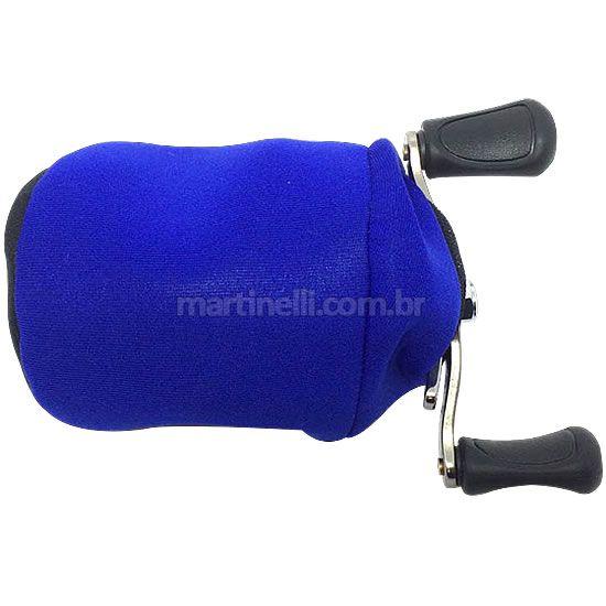 Protetor de carretilha neoprene - perfil baixo cor: azul