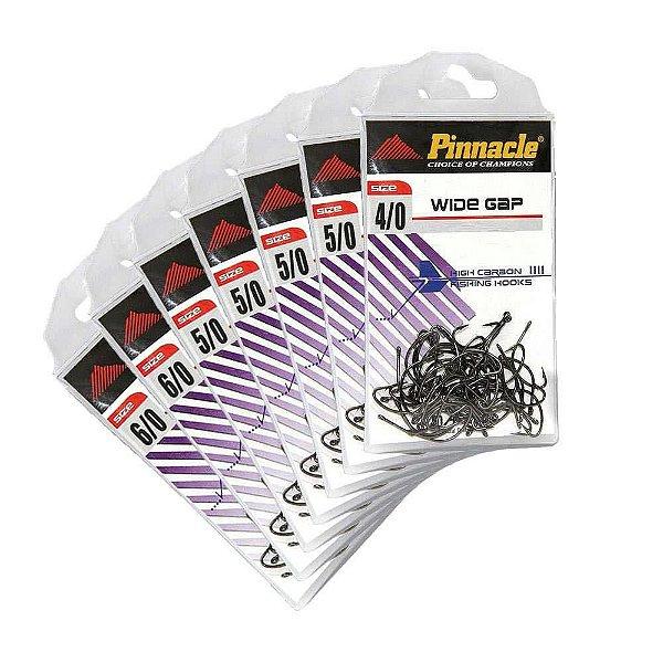 Anzol Pinnacle PacuKH-9500-4/0c/25/5/0c/25unid/6/0c/25unid