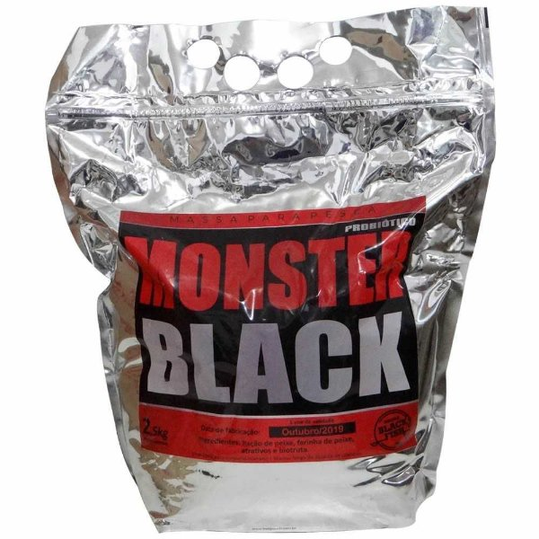 Massa Black Fish Monster 2,5 Kg