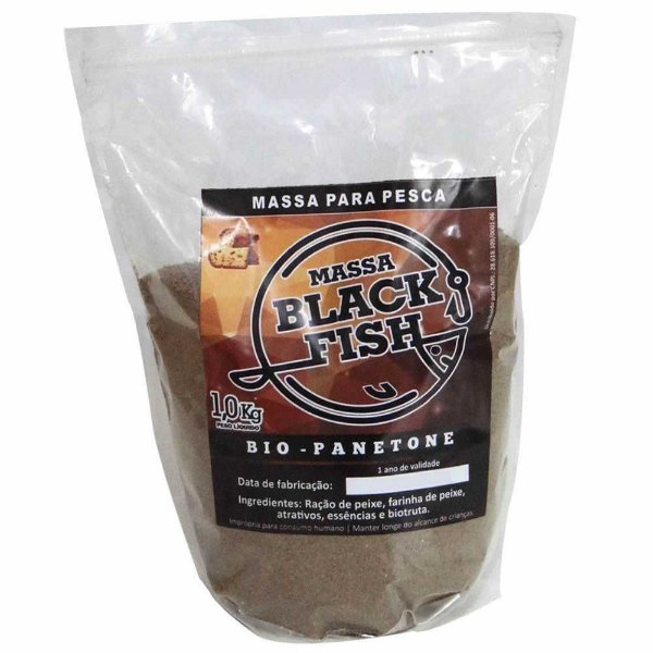 Massa Black Fish Bio Panetone 1 Kg