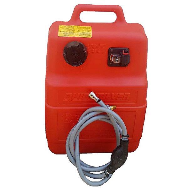 Tanque de combustível 25 litros (Original Mercury 15/25 ) Com mangueira, bulbo e conector.