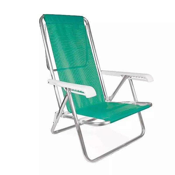 Cadeira Reclinável 8 Posições Alumínio Anis Mor 7896020622710