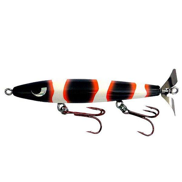 Isca artificial Yara Devassa 140mm 35gr Cor: Black Nemo