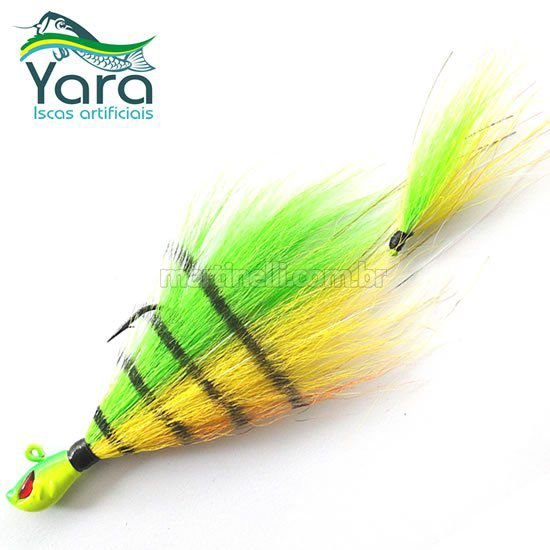 Isca artificial Yara Killer Jig 17g cor: 11 fire tiger
