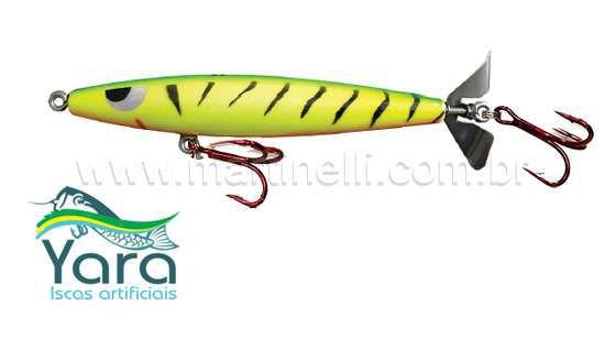 Isca artificial Yara Devassa 140mm 35gr Cor: Fire Tiger