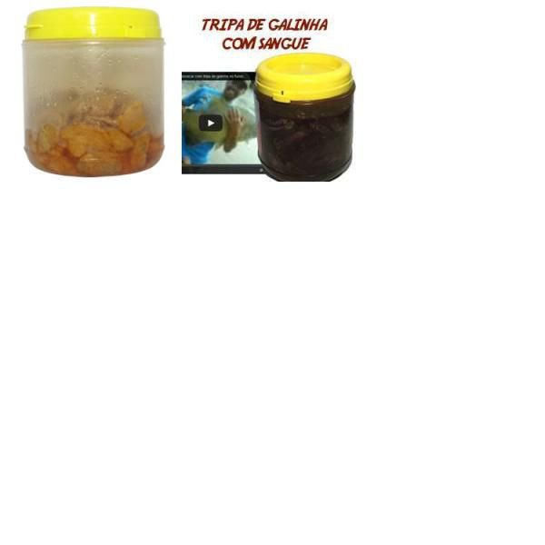 Kit Isca Natural Tripa + Tripa com sangue Pescaria de Tamba