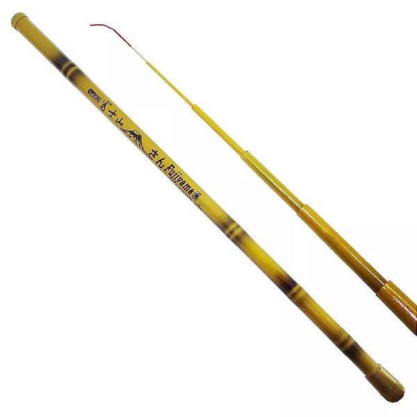 Vara Bambu Curto Fujiyama 1,80m - 40% Carbono