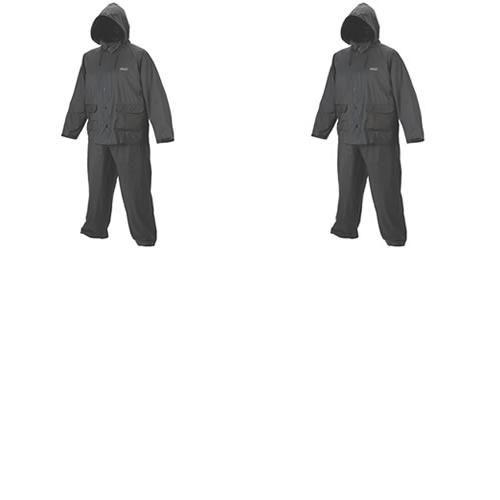 2 Capa de chuva PVC 20mm Preta M 110120014976