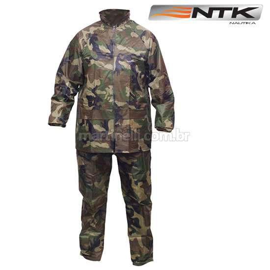 Conjunto Nautika Scott (capa de chuva) Bluzão + calça reforçados, costuras termos seladas tamanho: GG