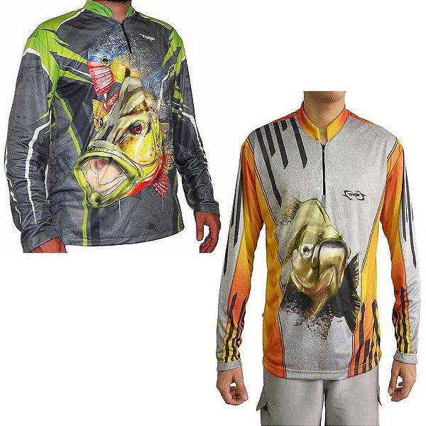 Kit Camiseta MTK Atack Z EX Tucuna + MTK Atack Z Tambaqui EX