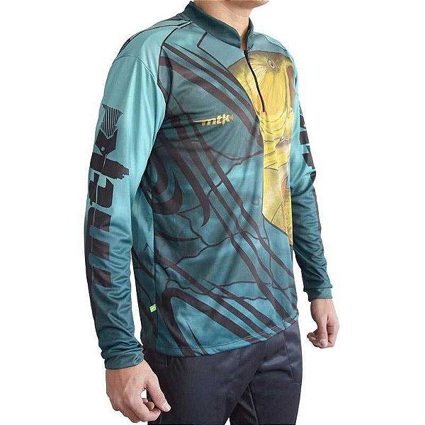 Camiseta MTK Atack Z - Tam. GG - Dourado