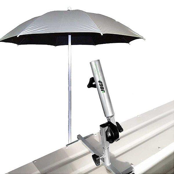 p/ guarda sol (banco) curto para barcos - Joga+ Guarda Sol Alumínio dupla face 1,60m diâmetro
