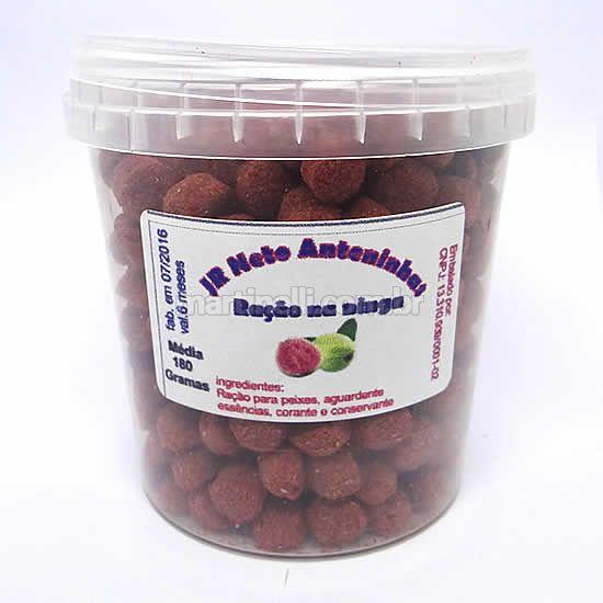Isca natural JR Neto Ração - Sabor Goiaba - 180 gramas