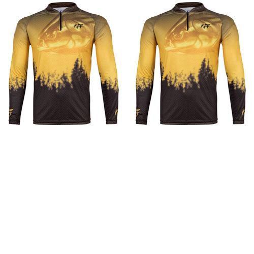 2 Camiseta de Pesca King 59 - Tamba - Tam: 01 - P