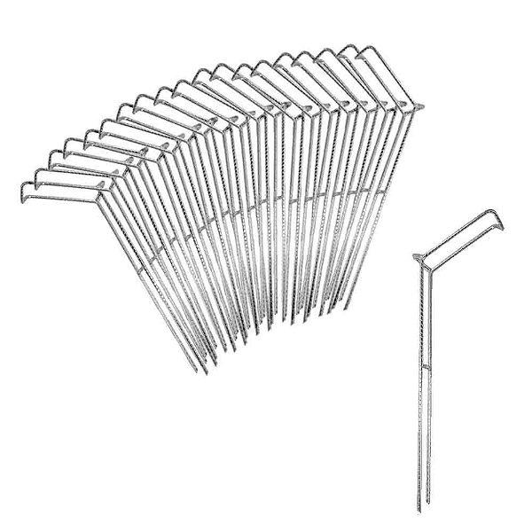 Kit 20X Suporte para vara barranco fixo tamanho M