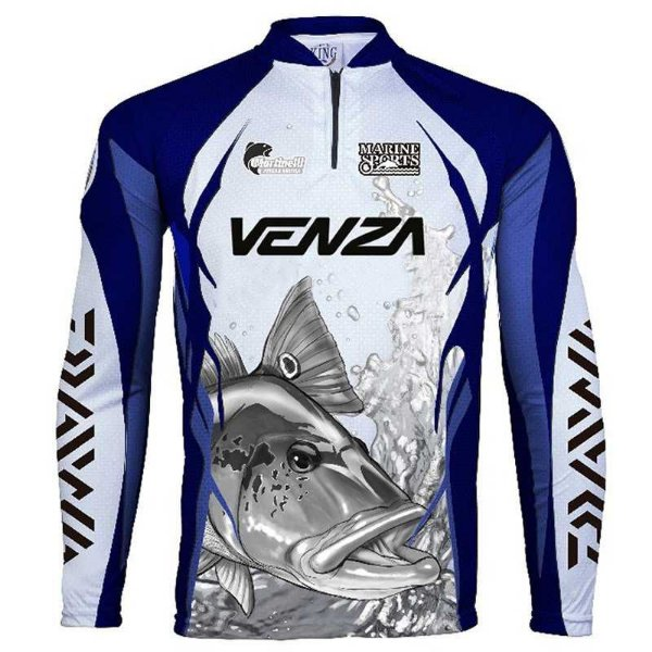 Camiseta de Pesca King Sublimada Venza Tam: EX