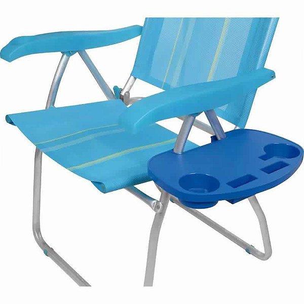 Mesa Portátil Com Porta Copos P/ Cadeira De Praia - Mor