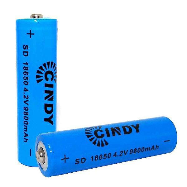 Bateria Recarregável 18650 9800mah 4.2v