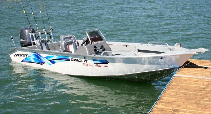 Barco Levefort Marajó Fishing Machine - Versões 17 / 19 Pés - Orçamento WhatsApp 16 98111.8340 - Raul
