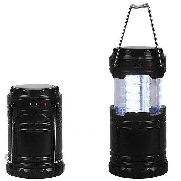 Lanterna Jws Ws-85b Recarregável Bivolt e Solar
