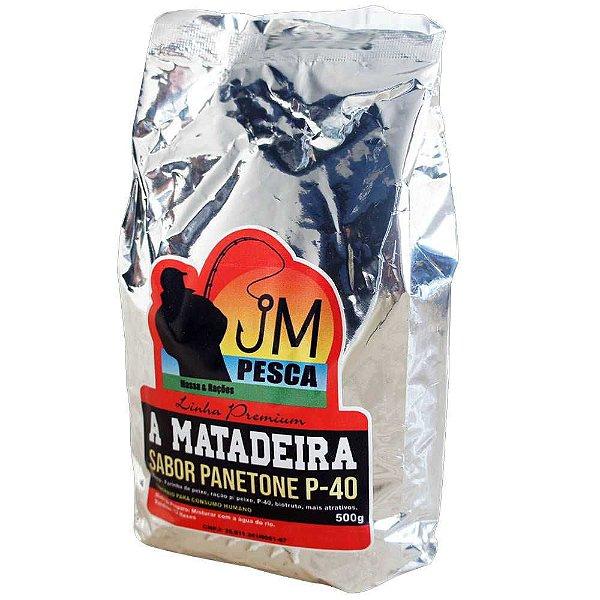 Massa Jm Pesca Panetone C P40 Premium 500g p/ redondos