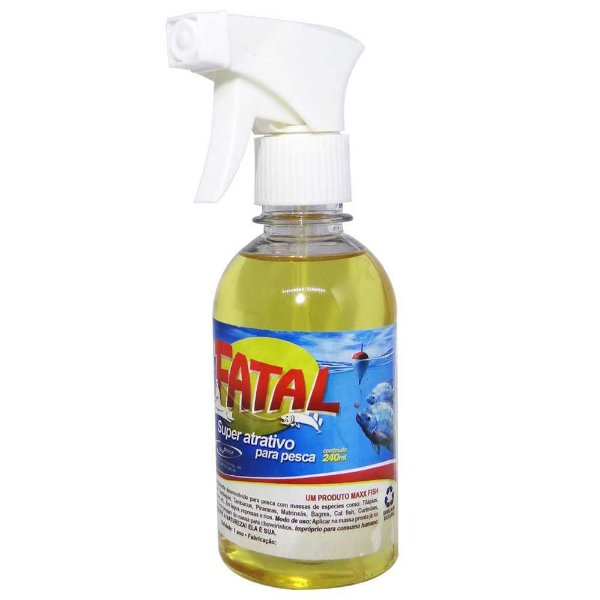 Super Atrativo MaxxFish Fatal 240ml c/ borrifador