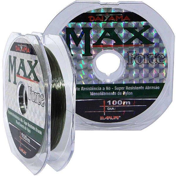 Linha Maruri Max Force Nylon 20.0 0,74mm 61.2kg 100m