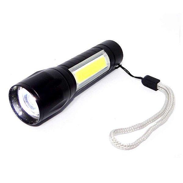 Lanterna Lampião Mini Usb Hz-03-1027 c/ Estojo