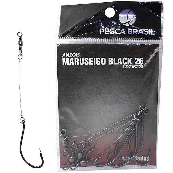 Anzol Pesca Brasil Maruseigo Black Encastoado 26 094110-un